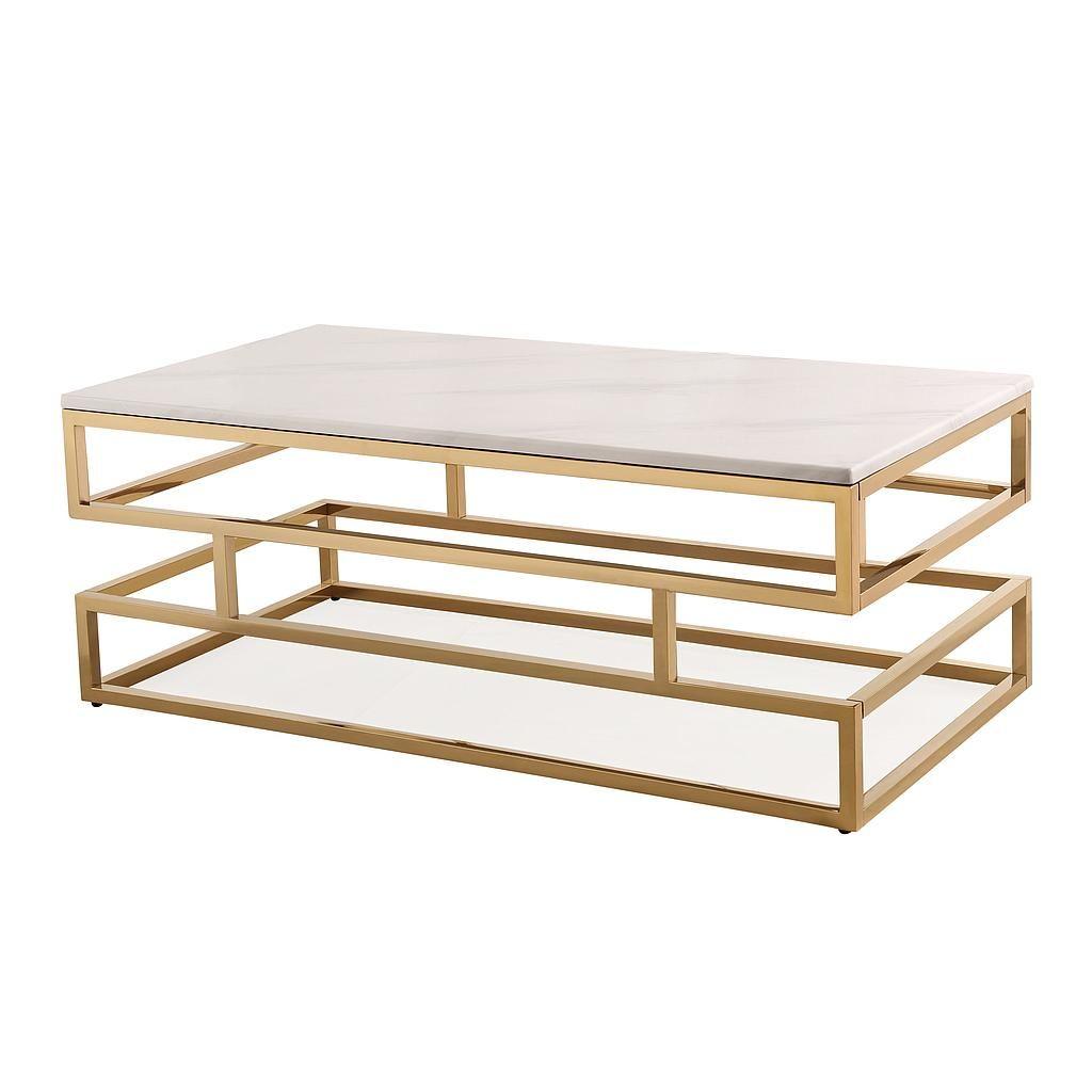 Elijah Coffee Table Tov Furniture Coffee Table Stainless Steel Coffee Table Furniture [ 1024 x 1024 Pixel ]