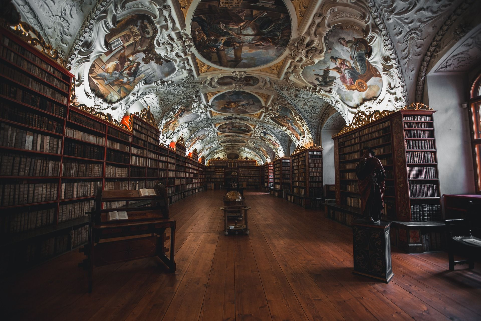 Strahov Monastery In Prague Light Up Your Ceiling And Create A