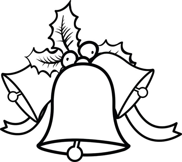Christmas Bells Coloring Page 3