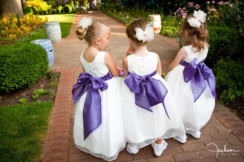 Sashes for the flower girls that coordinate with the bridesmaids sashes for the flower girls that coordinate with the bridesmaids dresses mightylinksfo Choice Image