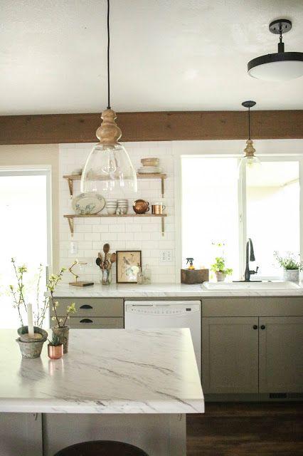vintage whites blog kitchen remodel reveal a 5 000 countertop makeover giveaway kitchen on kitchen remodel under 5000 id=31144