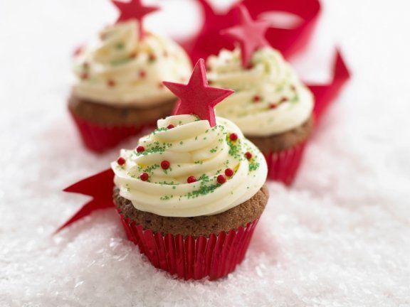 Deutsche Weihnachtskekse.Cupcakes Zu Weihnachten