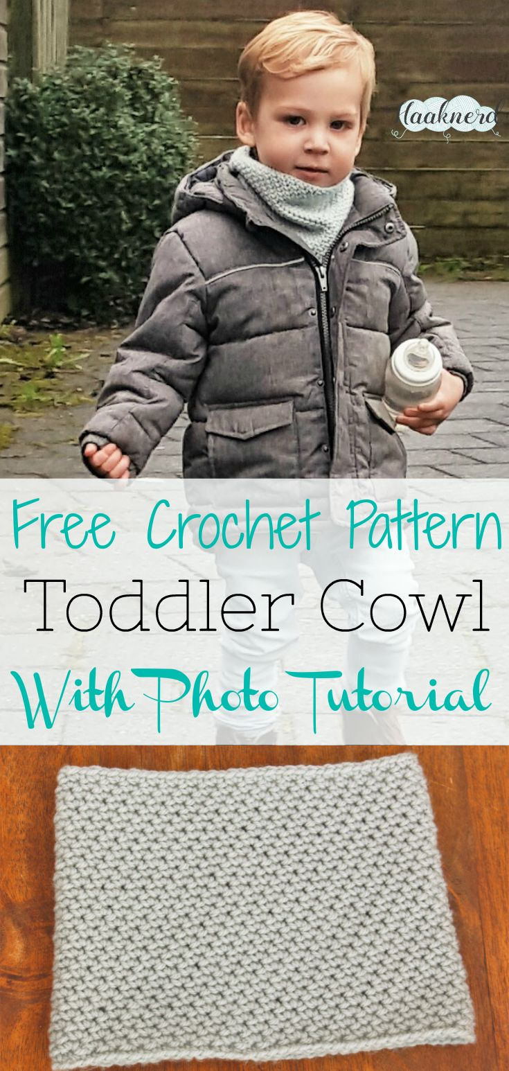 Toddler Cowl | Pinterest | Toddler cowl, Free crochet and Crochet