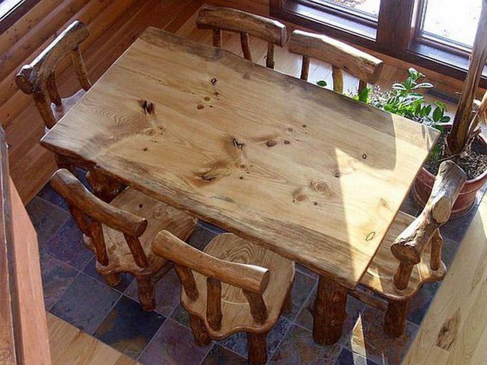 Rustic dining room sets design