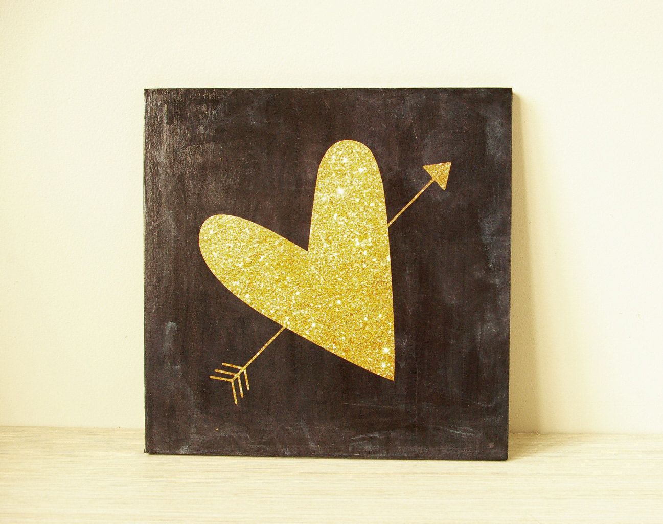 Wooden art block 8x8 collage wall decor decoupage mixed media home ...