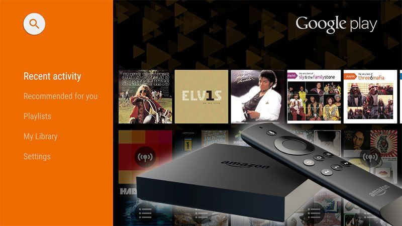 This Guide Will Show You How To Install The Android Tv Version Of The Google Play Music App On An Amazon Fire Tv Or Fire Fire Tv Stick Amazon Fire Tv