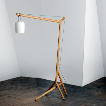 Furniture by postfossil projects to try pinterest turned wood build your own floor lamp with a pendent lamp aloadofball Choice Image