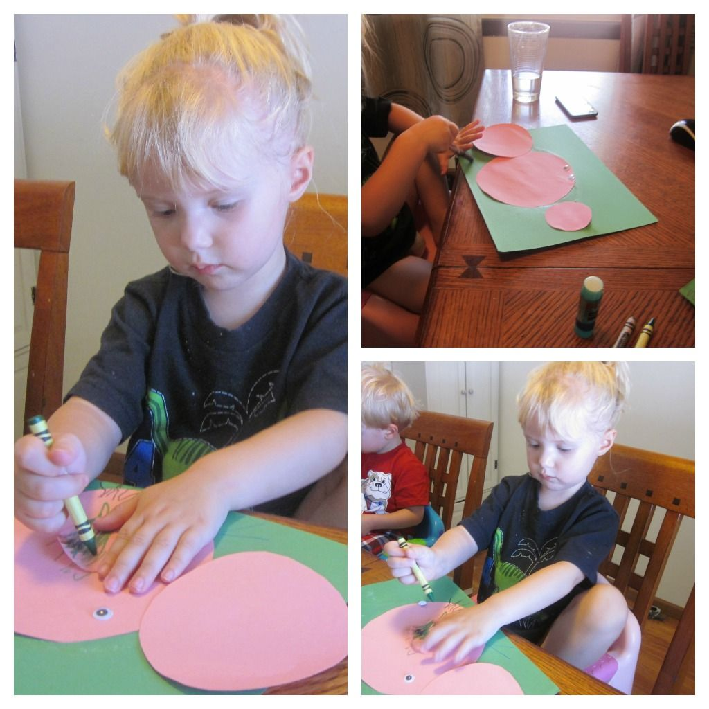 Three Little Pigs Craft About Circles