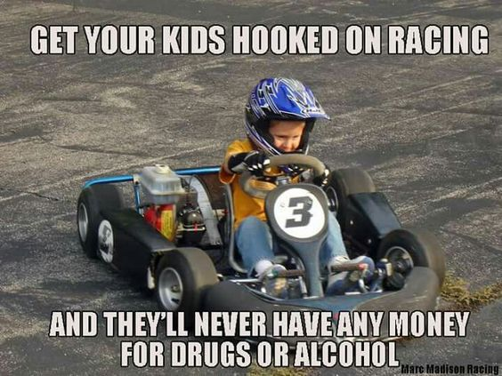 Keep Your Children On Track By Being On Our Race Track With