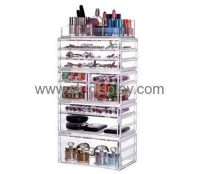Custom Acrylic Makeup Storage Cheap Acrylic Cosmetic Drawers Tabletop  Makeup Organizer CO 292