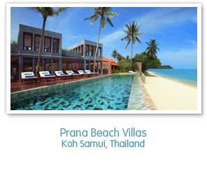 Prana Beach Villas Koh Samui Thailand