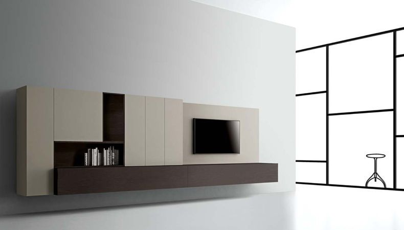 T030 WALL SYSTEM 2 by LEMA available at Haute-Living Swapping - fixation meuble haut cuisine ikea