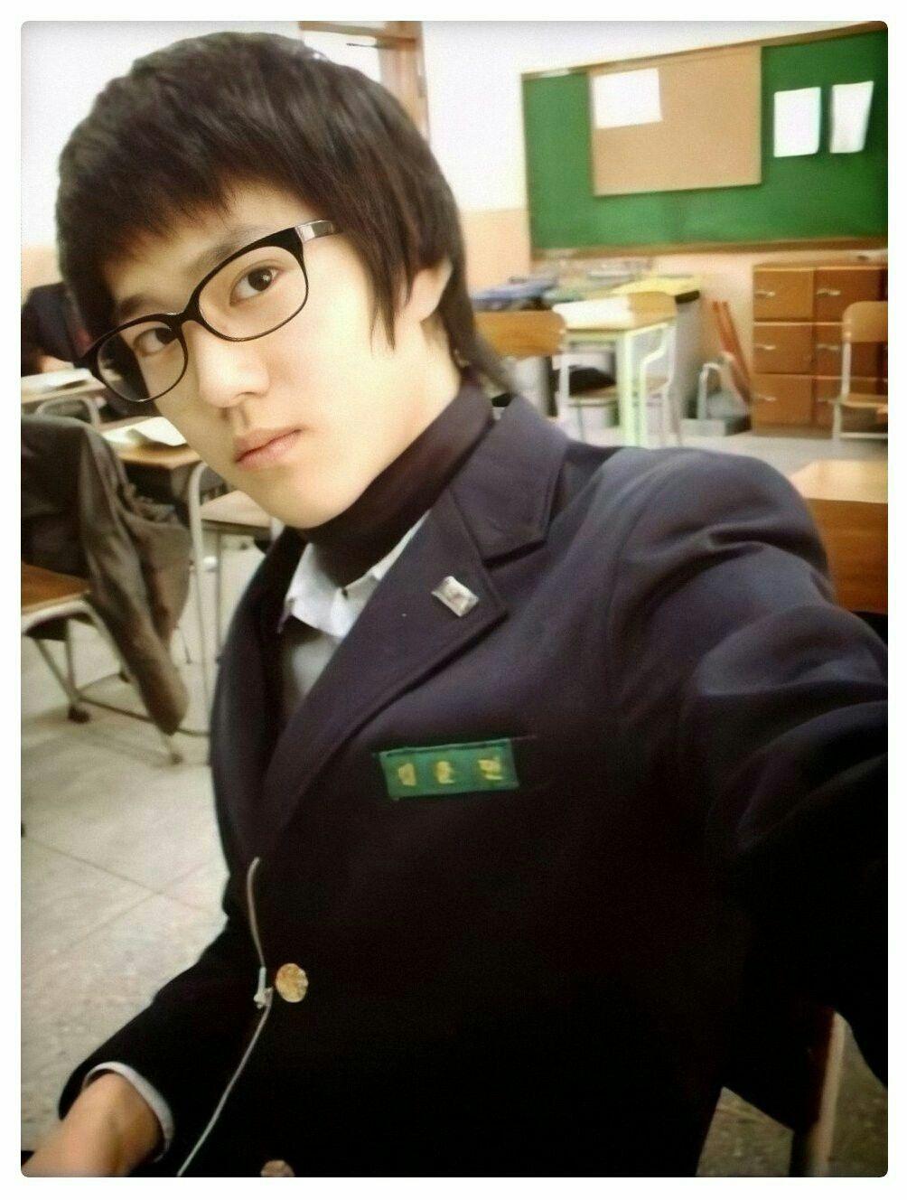 Suho EXO di masa sekolah