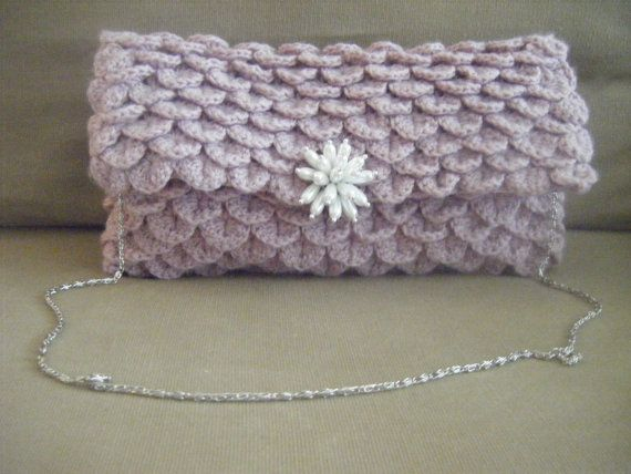 INSTANT DOWNLOAD Clutch Crocodile Oversize Crochet Pattern Include ...