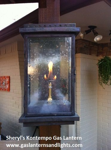 Award Winning Contemporary Gas Lanterns By Sheryl Stringer Can Be Found On  Homes, Restaurants And