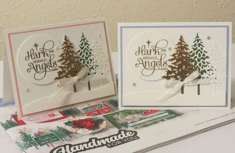 Stampin Up Christmas Cards 2020 Pin on Stampin Up Holiday 2020