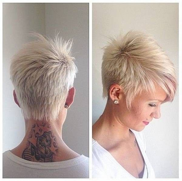 Womens Short Haircuts White Women 2015 Google Search Short Hair Styles Short Hair Styles Pixie Funky Short Hair