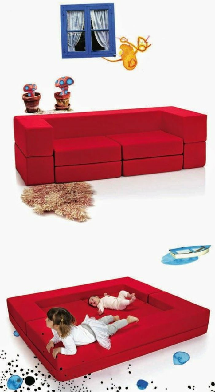 Kindersofa kinderzimmer einrichten kinder couch for Kinderzimmer pinterest