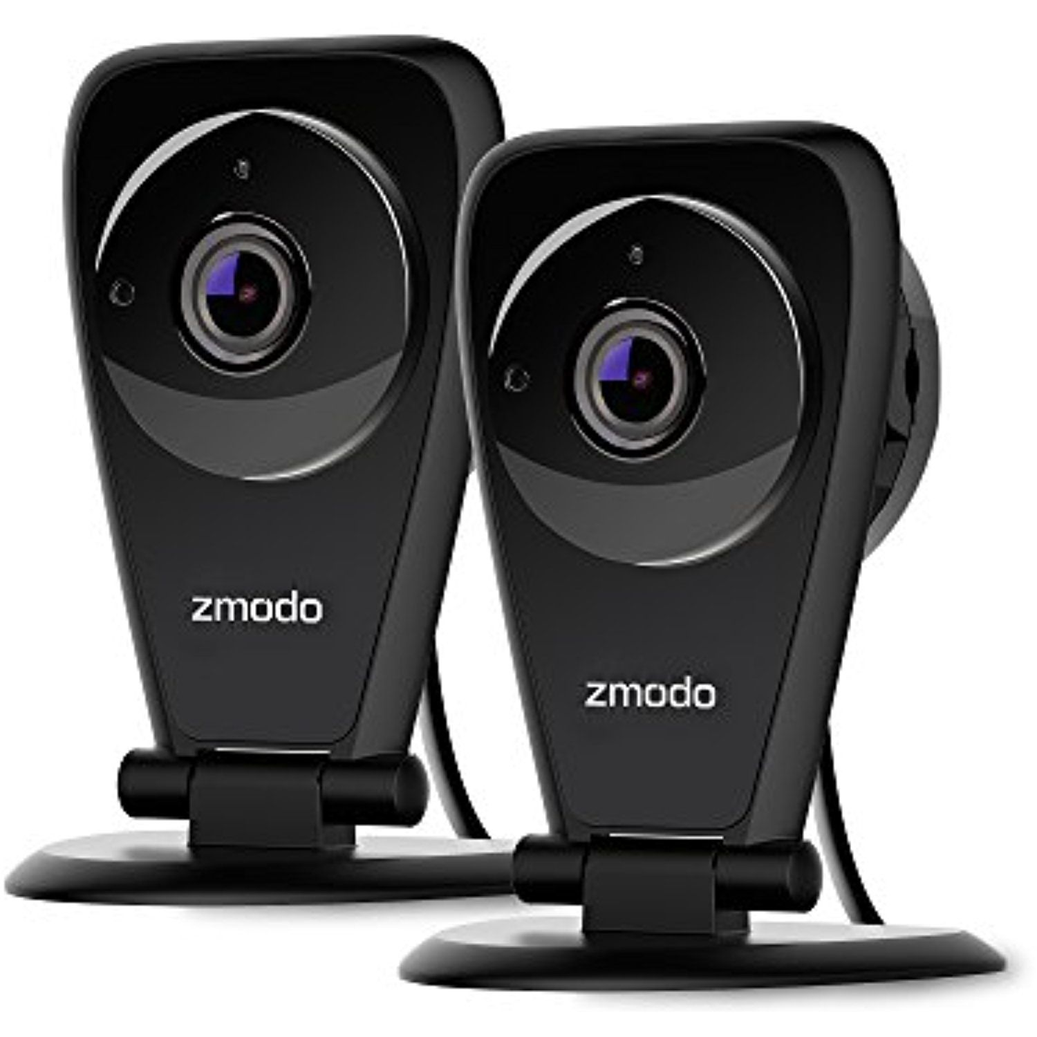 2-Pack  Zmodo Two-Way Audio Mini WiFi Home Security Camera Indoor Cam New