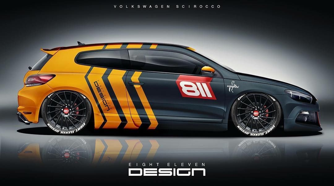 Eighteleven Design On Instagram 811 Design For Vw Scirocco Eightelevendesign Eighteleven 811 811design Wrapping Carporn Keskin Vw Volkswage V 2020 G Naklejki Na Avto Tyuningovannye Avtomobili Avtomobilnye Naklejki