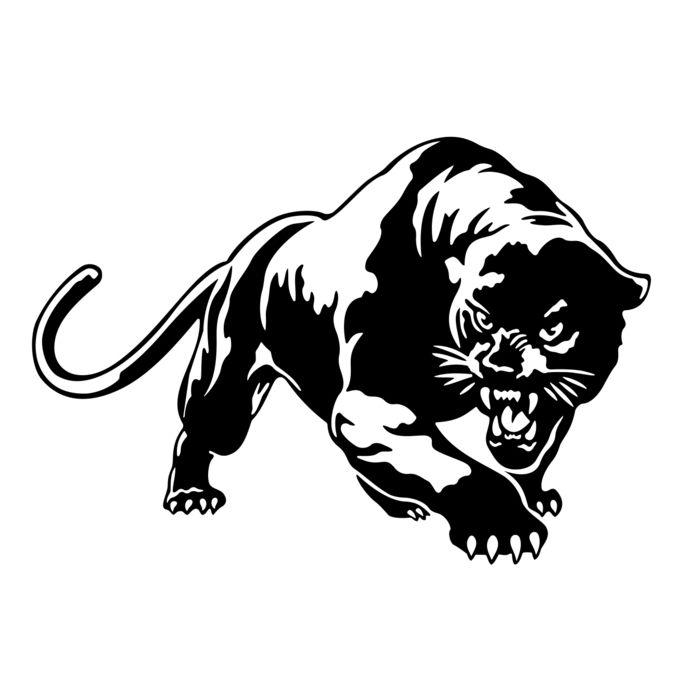 Puma Cougar Panther SVG, DXF, EPS, Png, Cdr, Ai, Pdf
