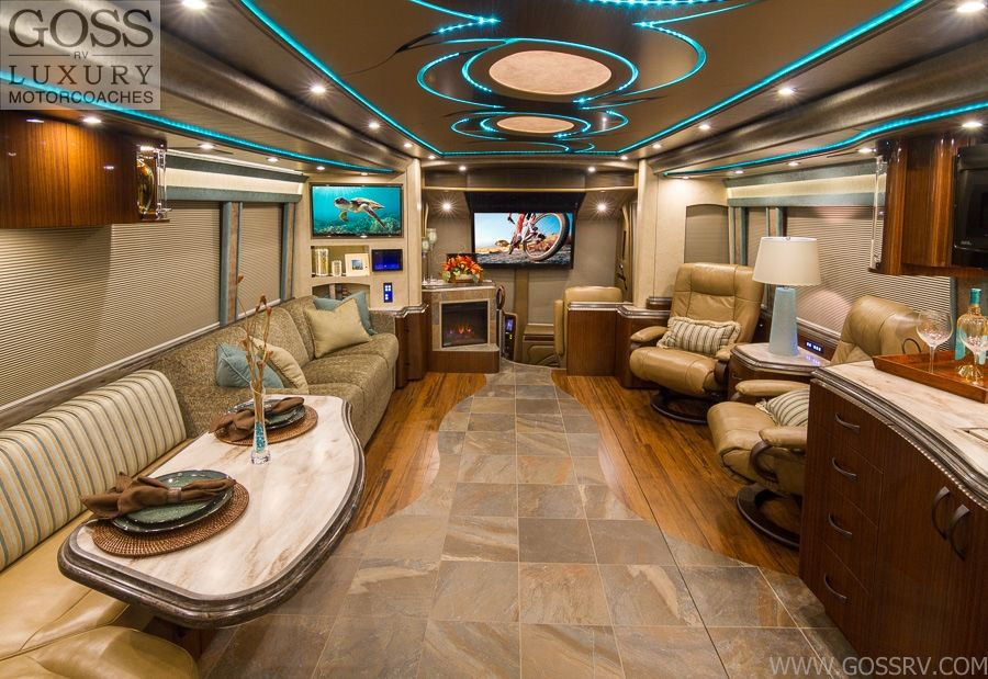 Motorcoach RV Parks RV Rental Goss RV Luxury