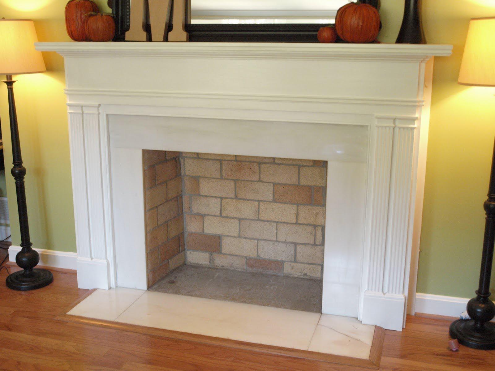 Faux Fireplace Mantel Diy Chimeneas Decorativas