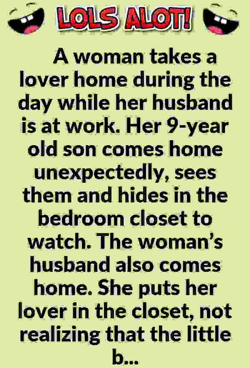 A Woman Takes A Lover Home During The Day While Her Husband Is At