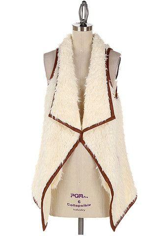 the coziest sherpa vest – Kelly Fields