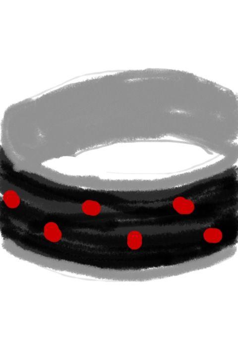 珐琅——瓢虫戒指