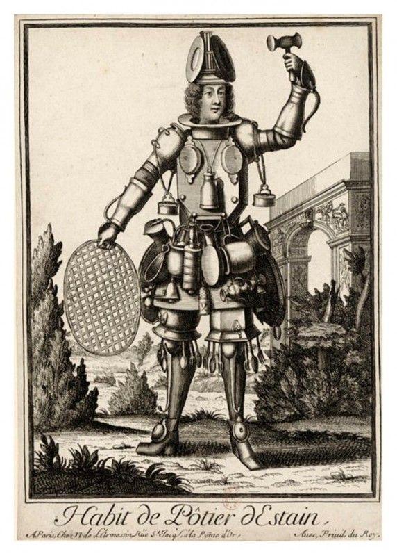 Costumes grotesques et métiers de Nicolas de Larmessin