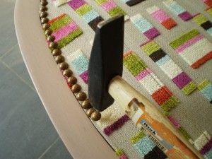 comment recouvrir un voltaire diy pinterest fauteuil. Black Bedroom Furniture Sets. Home Design Ideas