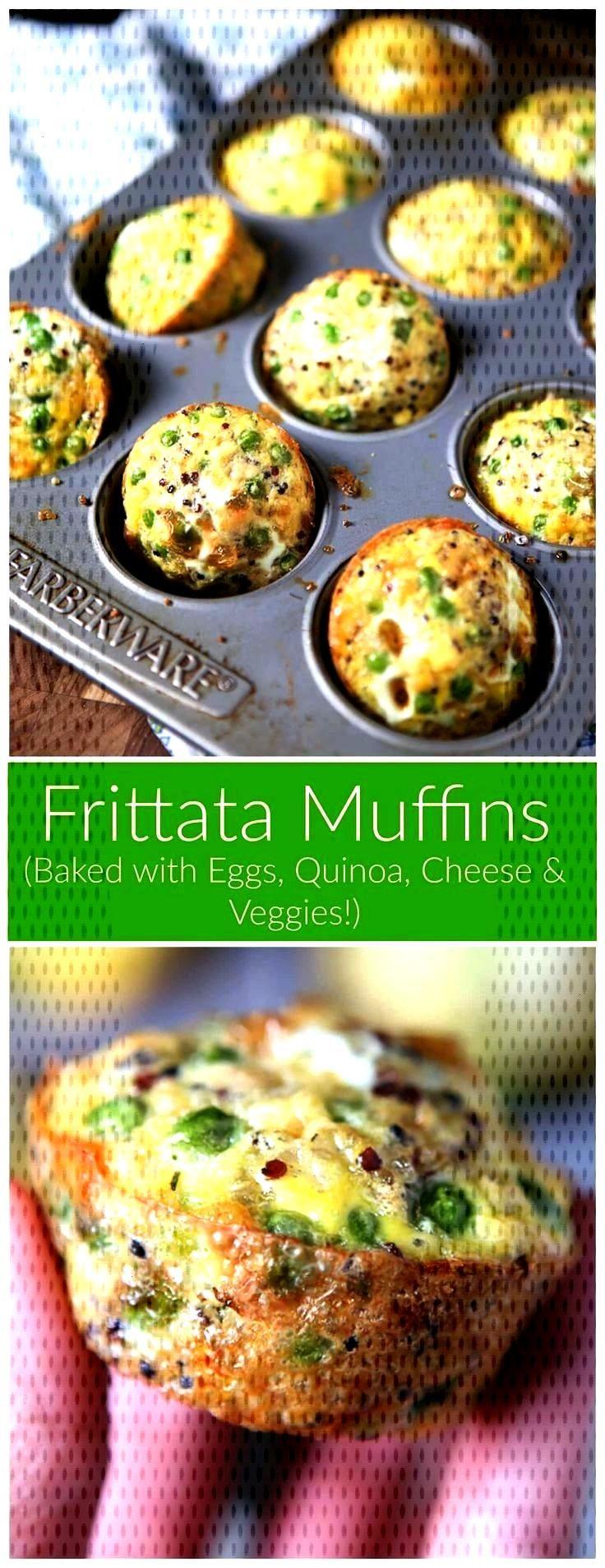 Muffins   Gebackene Quinoa- und Eimuffins Frittata Muffins   Gebackene Quinoa- und Eimuffins,Fritta