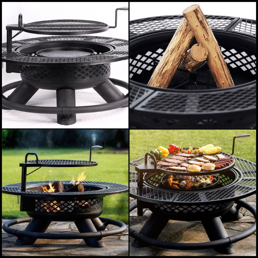 Big Horn Cowboy Texas Firepit and Grill | Outdoor Ideas in ...