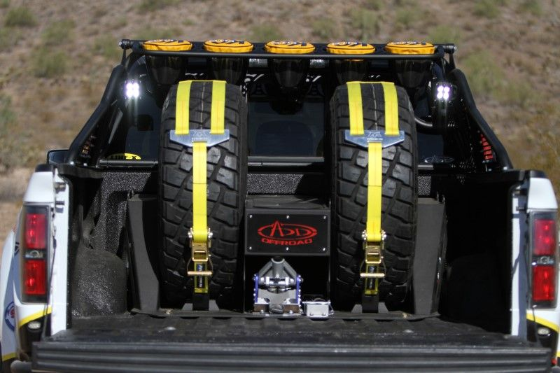 Ford F Series Stage 3 Rear Bed Cage Suspension The