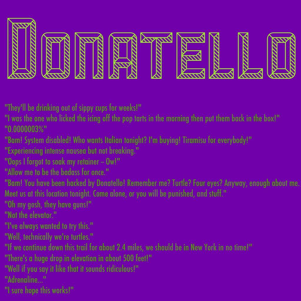 Ninja Turtle Quotes Tmnt 2014 Quotesquotesgramquotesgram  Ninja Turtles