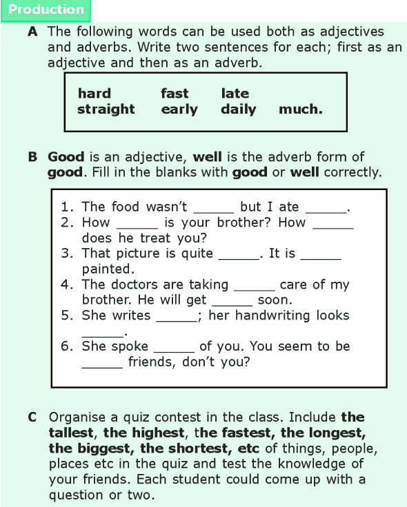 Grade 6 Grammar Lesson 15 Adjectives And Adverbs 6 Ingilizce