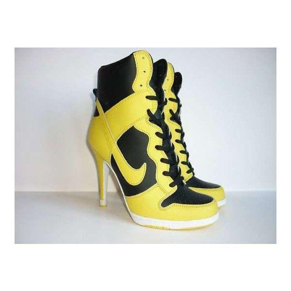nike tennis shoes high heels