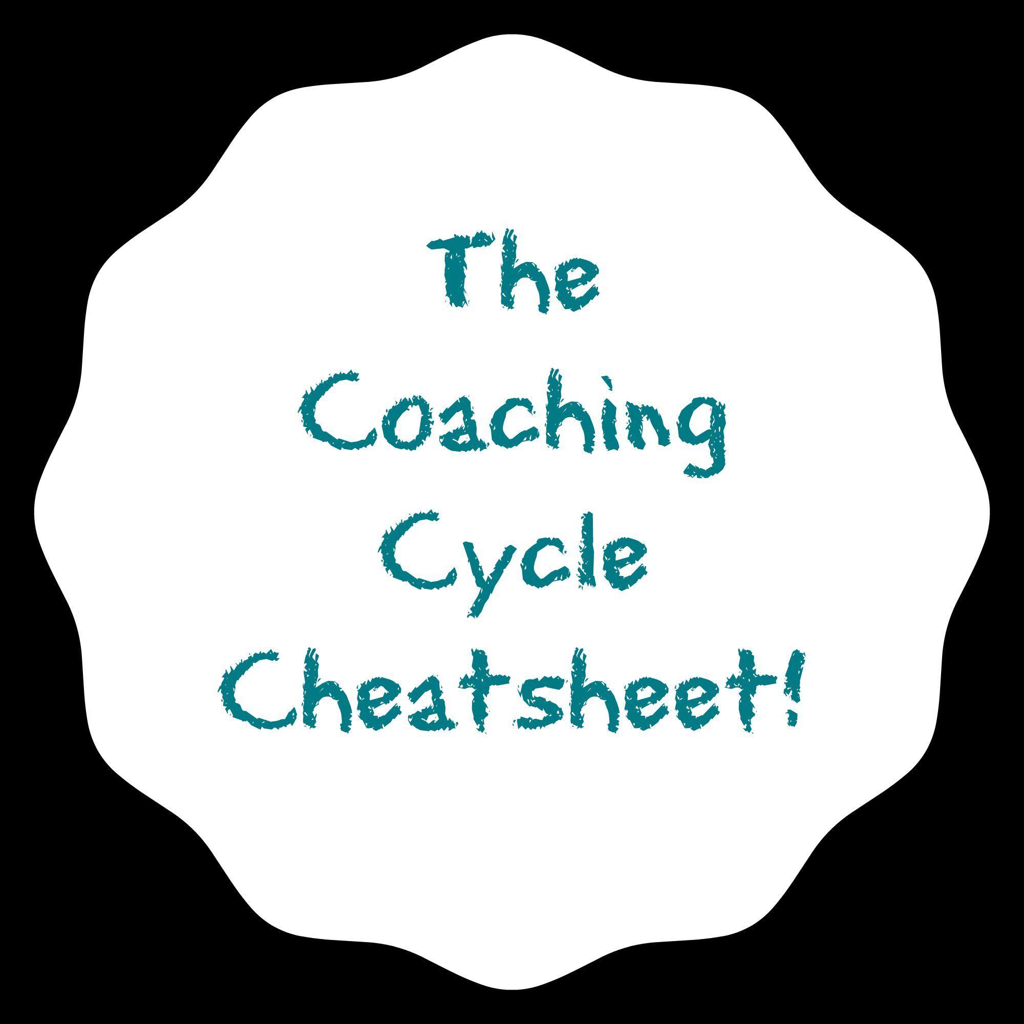 Coaching Cycle Cheatsheet