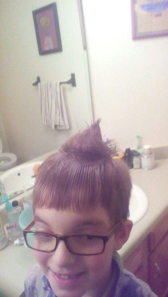 New fashion hair trend.