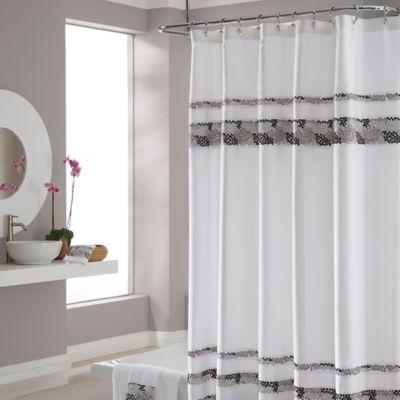 Croscill Deco Bain Tile 54 Inch X 78 Inch Shower Curtain
