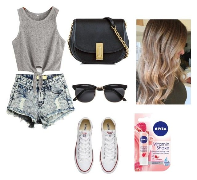 """""""Sans titre #262"""" by israa-samraa on Polyvore featuring mode, Marc Jacobs, Converse et Nivea"""