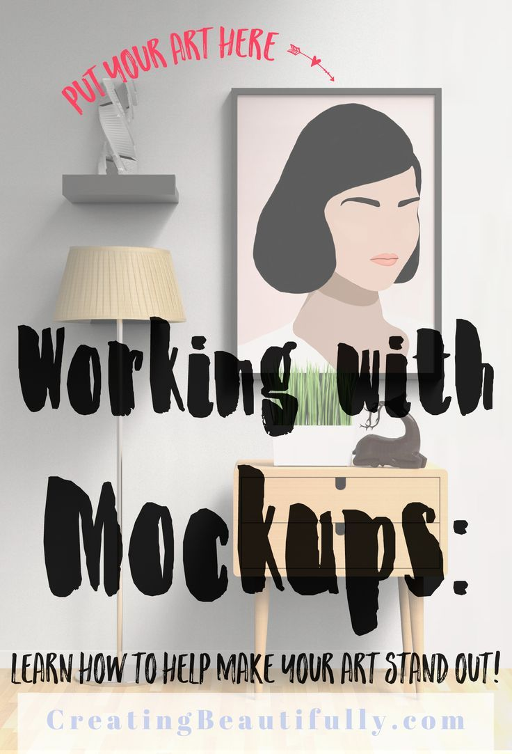 Make Your Art Stand Out With Mockups   Art stand, Artwork ...