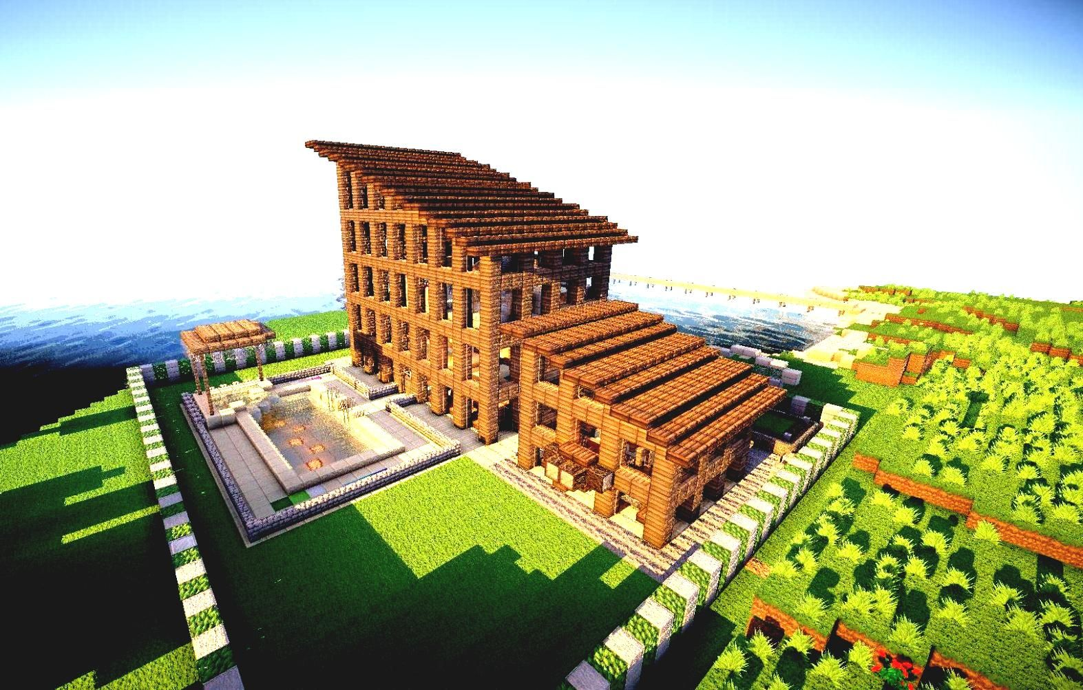 cool-minecraft-houses-courseimage.jpg (1573×1003) (With ...