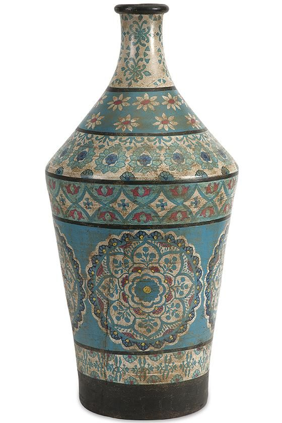 Kabir Hand Painted Vase Office Pinterest Painted Vases And