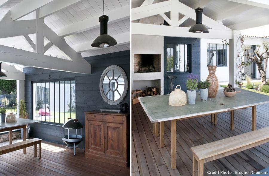 Une d coration comme sur l 39 ile de r terrasses balcons pinterest maison decoration et for Decoration maison ile de re