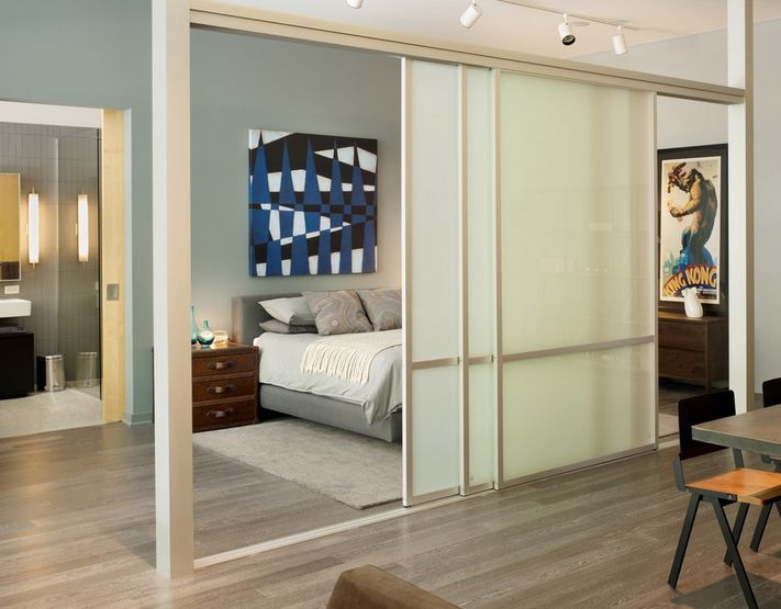 Enjoying Flexibility With Sliding Room Dividers Bedroom Divider Sliding Room Dividers Apartment Room