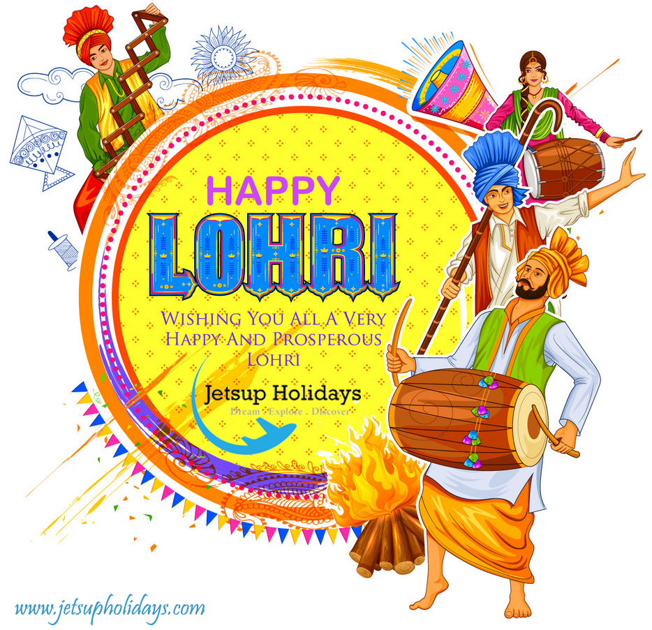 Happy Lohri 2020 - Jetsup Holidays di 2020