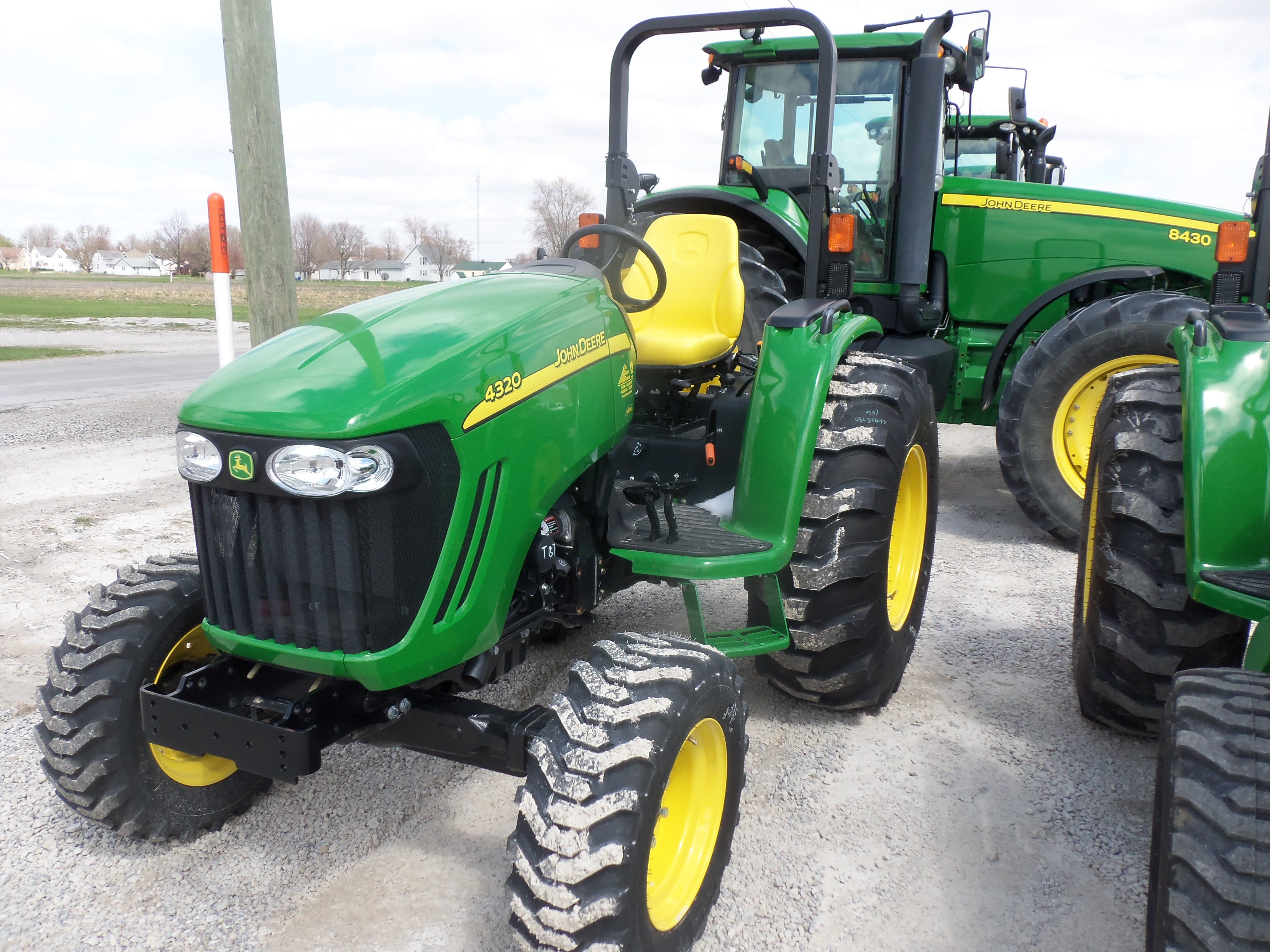 medium resolution of john deere 4320 compact diesel tractor