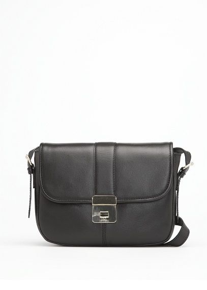 f54715a2385 Leather shoulder bag - Woman in 2019 | Mango Wish List | Bags, Black ...